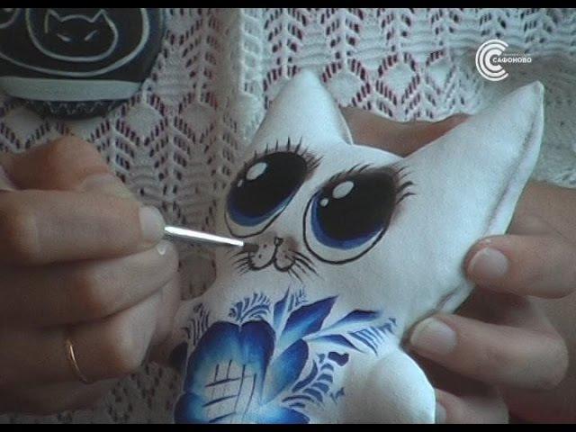Творческая мастерская. Игрушка в технике грунтованный текстиль.