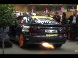 Audi S2 Anti Lag Revs - BACKFIRE!