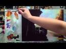 Алла Белопесоцкая урок живописи маслом прогулка
