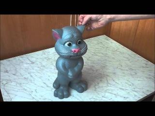 Небольшой обзор интерактивной игрушки Talking Tom Cat