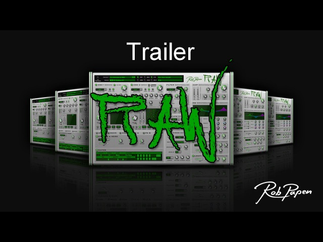 Rob Papen RAW Trailer