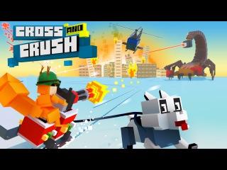 New Minecraft-like game Cross And Crush: crush them all!