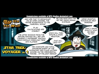 Star Trek: Voyager 1 - Atop the Fourth Wall