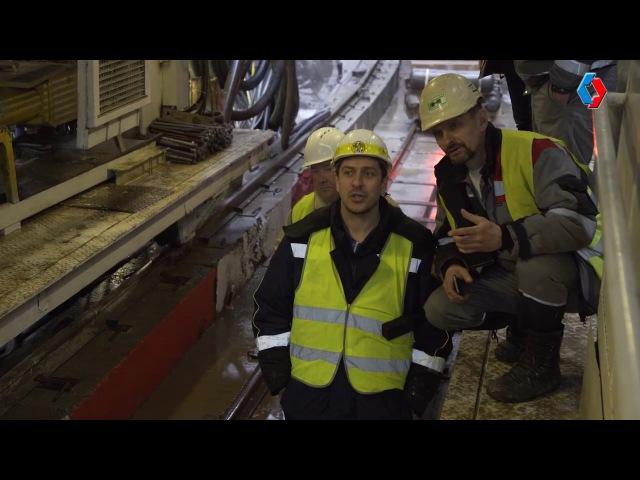 Началось строительство тоннеля между переходной камерой и станцией Косино