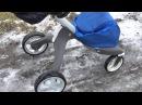 Как ездит по снегу Stokke Xplory v4 стокке эксплориПодходит ли Стокке для зимы