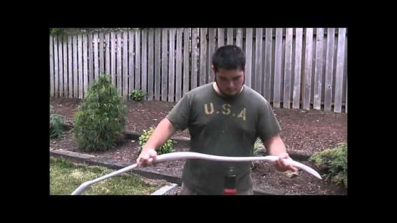 The Hobbit Inspired Elven PVC Horsebow, 40-45 Pounds, Part 2