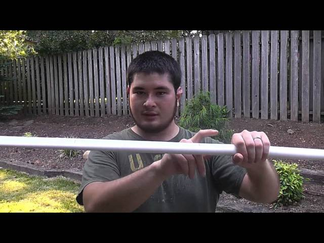 The Hobbit Inspired Elven PVC Horsebow, 40-45 Pounds, Part 1
