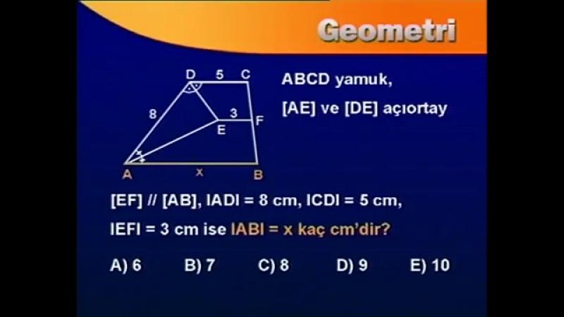 Yamuk ve özellikleri - BİL IQ YGS Geometri Eğitim Seti