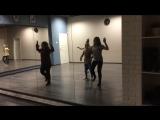 танцевальная часть номера Земля (репетиция)