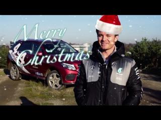 Merry Christmas from F1 Champion Nico Rosberg!