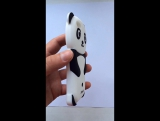 ?Краткий обзор резинового защитника! Panda? Чехол для ? iPhone 5 5s SE