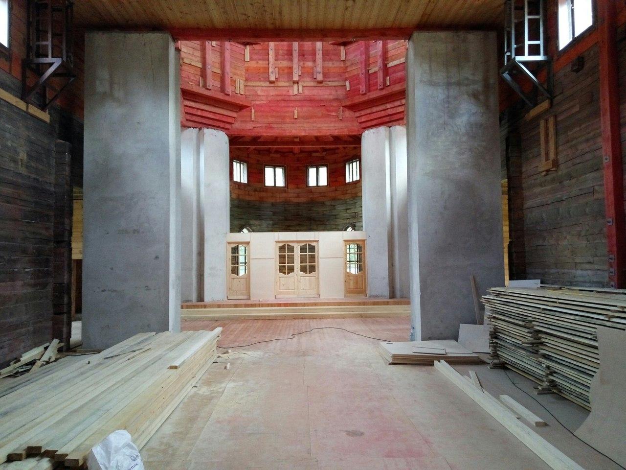 Новый храм святителя Спиридона Тримифунтского