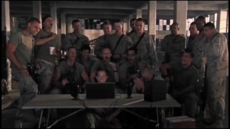Поколение Убийц | Generation Kill (TV Mini-Series 2008– ) Концовка и Речь Морпеха в Финальных Титрах