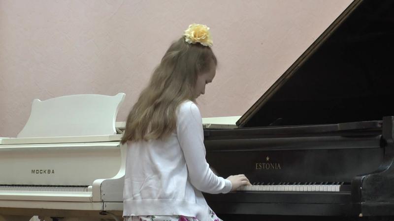 Звёздная ночь (Агафонкина Полина, фортепиано)