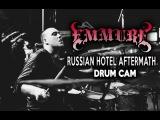 Emmure Russian Hotel Aftermath Drum Cam (LIVE)