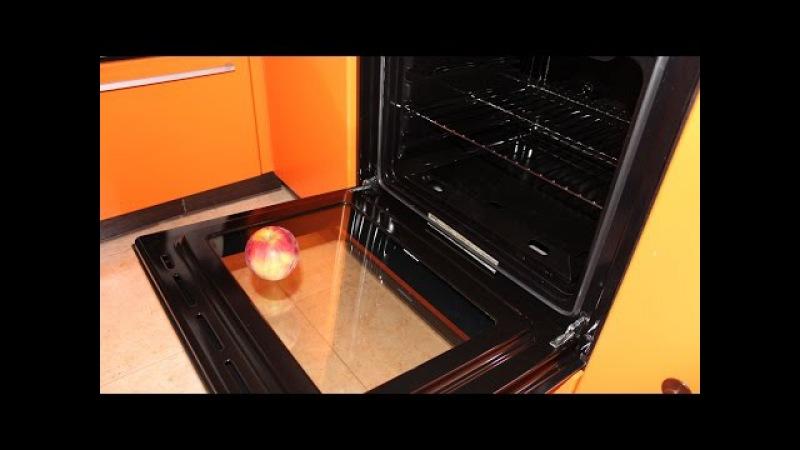 Как разобрать и почистить духовую дверцу плиты Kaiser. Nataly Gorbatova