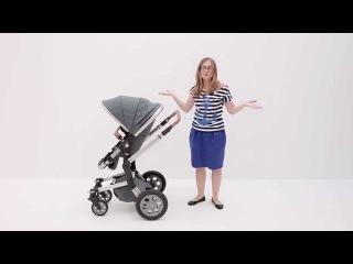 Обзор коляски Joolz Day Quadro на HappeakTV