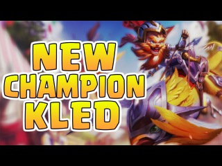 Nightblue3 - NEW CHAMPION KLED JUNGLE SPOTLIGHT