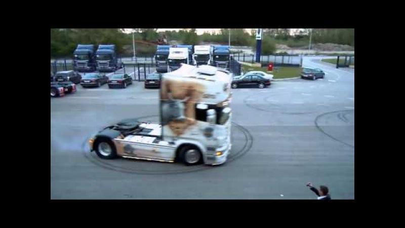 Scania R500 Transporti Runko truck tuning drift