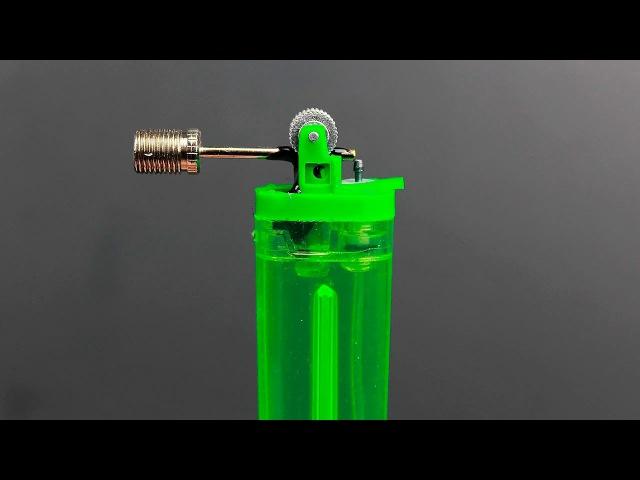 Необычная идея самодельного аэрографа из зажигалки/An idea of making a DIY airbrush from a lighter