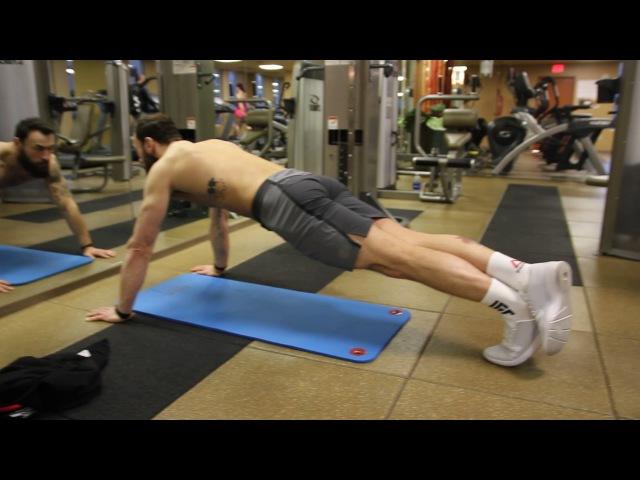 Тренировка бойца MMA: Пол Крейг, отжимания nhtybhjdrf ,jqwf mma: gjk rhtqu, jn;bvfybz