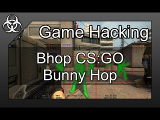 Game Hacking #3 - How to make a Bunnyhop for CS:GO Hack Tutorial