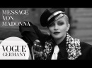 Message von Madonna - Her Story I VOGUE Germany dressup speakup