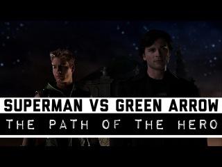 Superman VS Green Arrow | Smallville | Clark Kent VS Oliver Queen