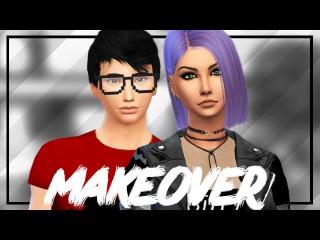 The Sims 4: Династия Disney || Makeover - Ханна и Сэм Сноу