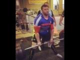 Неизвестный Атлет из Ирана тянет в лямках 390 кг на 3 повтора без экипировки!