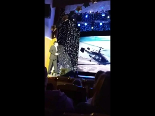 Салават Газалиев г.Лангепас на сцене ДК Нефтянник