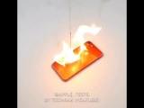 Красный iPhone 7 - проверка огнём
