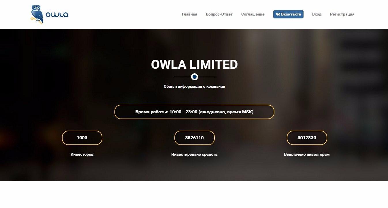 Постер к новости Owla