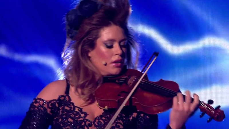 Violinist Lettice Rowbotham rocks Evanescences Bring Me to Life _ Britains Got Talent 2014 Final