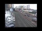 ДТП на ул. Красных Партизан и ул. Лукьяненко.