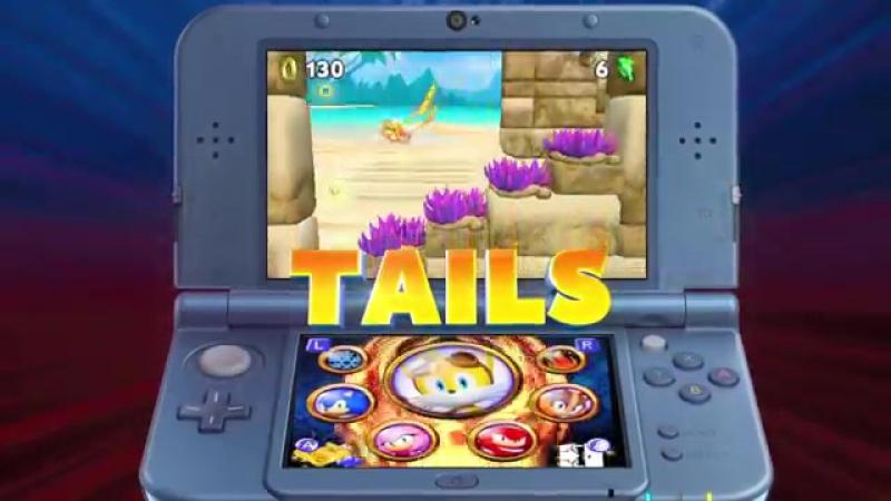 Sonic Boom- Fire Ice - Nintendo 3DS Trailer