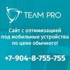 Создание и продвижение сайтов - Team Pro