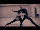 Alessandra Ferri  Herman Cornejo in rehearsal with Bruce Levingston  Russell M