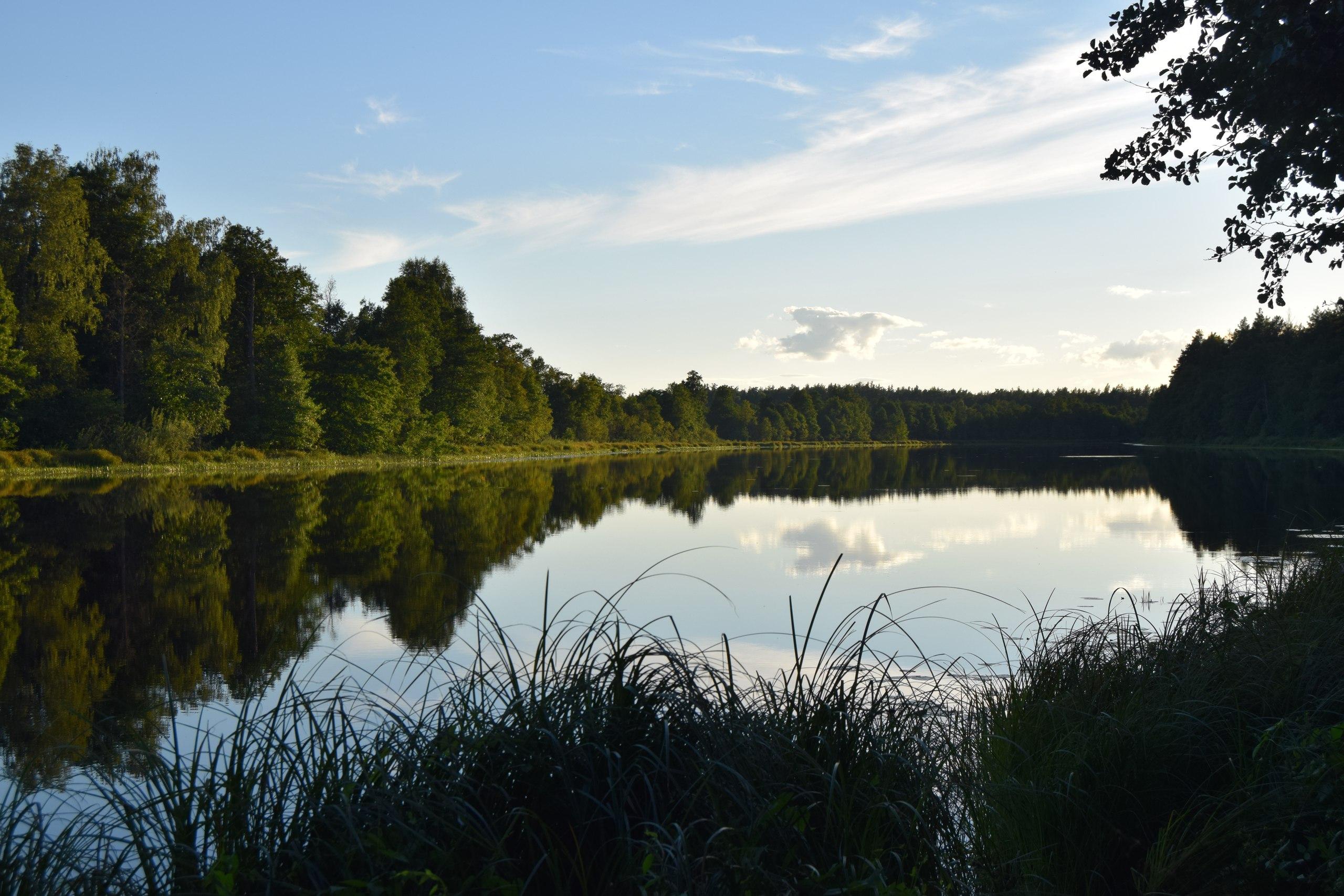Вид на озеро Долгое