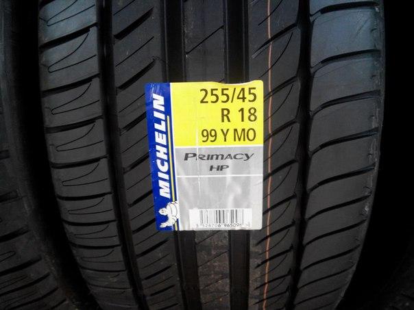 Michelin Primacy HP255/45/R18