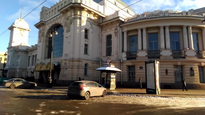 Бржозовский. Витебский вокзал (1904)