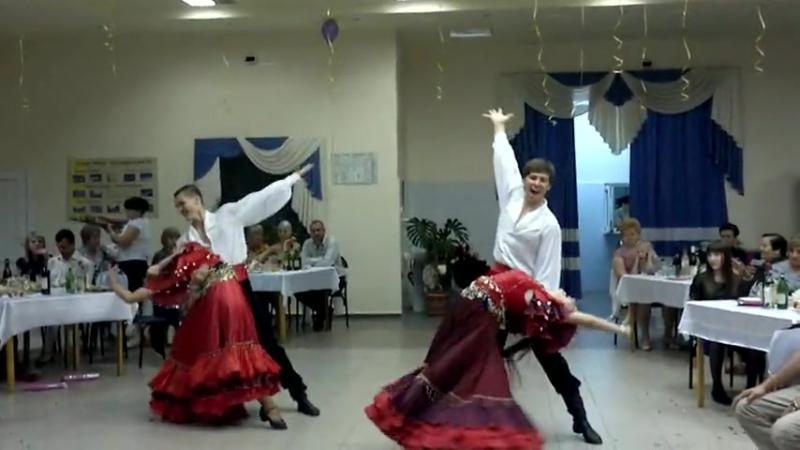 Шоу-балет L-Клуб Цыганский и интер актив