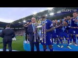 Leicester City lifted the Premier League trophy one year ago today!