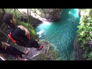Canyoneering Alegria-Badian Cebu 50ft jump
