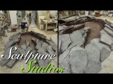 Walking With Dinosaurs 3D Footprint by Sculpture Studios