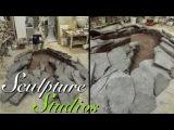 Walking With Dinosaurs 3D Footprint by Sculpture Studios