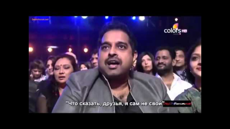 Shahrukh Khan at Mirchi Music Awards 16th March 2014 part 1 с русскими субтитрами
