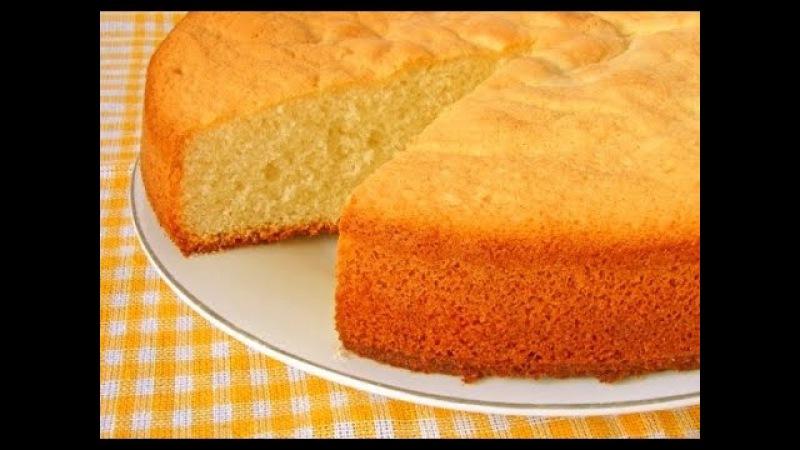 Лимонный кекс на кефире рецепт