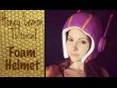 Honey Lemon Costume Tutorial - Foam Helmet
