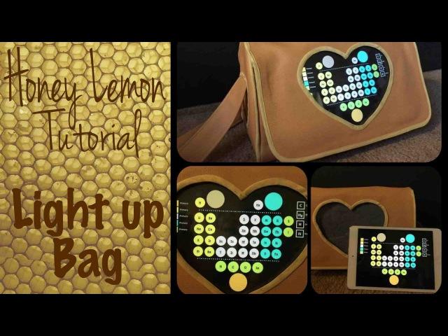 Honey Lemon Costume Tutorial - Light Up Purse